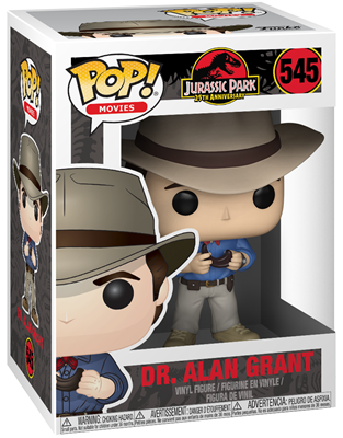 Funko Pop! Movies Dr. Alan Grant Stock