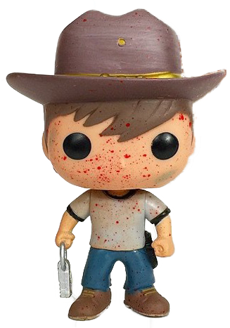 Funko Pop! Television Carl Grimes (Bloody)
