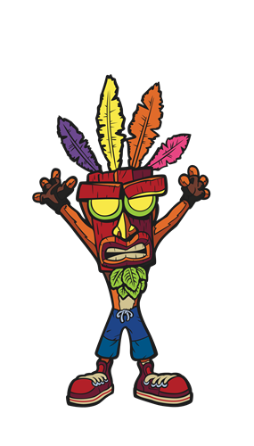 FiGPin Crash Bandicoot Crash Bandicoot Aku Aku