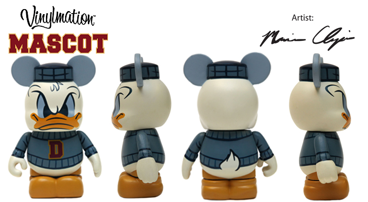 Vinylmation Open And Misc Mascot Donald
