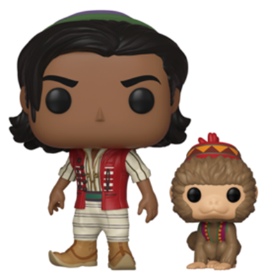 Funko Pop! Disney Aladdin of Agrabah wi/ Abu