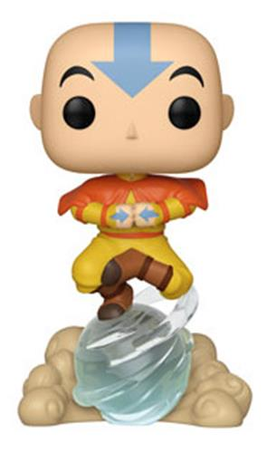 Funko Pop! Animation Aang on Airscooter Icon