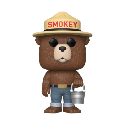 Funko Pop! Ad Icons Smokey Bear (w/ Bucket)