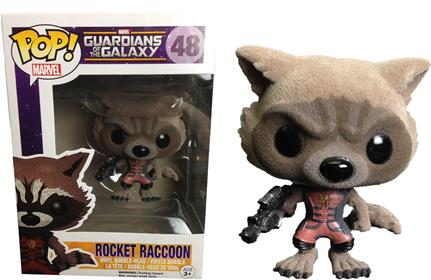 Funko Pop! Marvel Rocket Raccoon (Ravagers Uniform) (Flocked) Stock