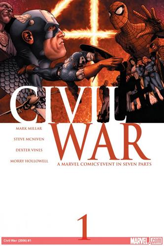 Marvel Comics Civil War (2006 - 2007) Civil War (2006) #1