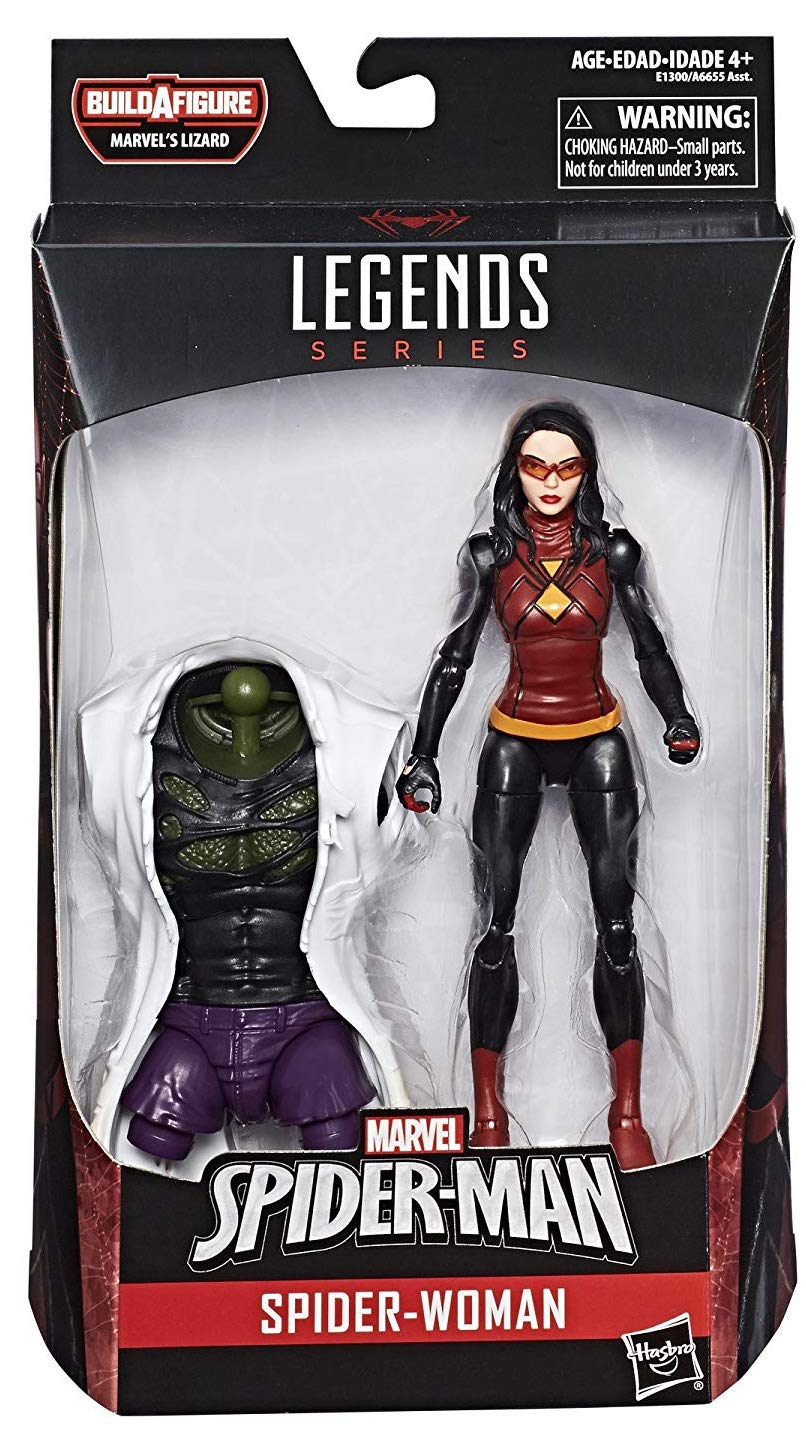 Marvel Legends Lizard Series Spider-Woman