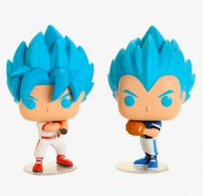 Funko Pop! Animation Goku & Vegeta (Baseball)