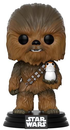 Funko Pop! Star Wars Chewbacca (w/ Porg)