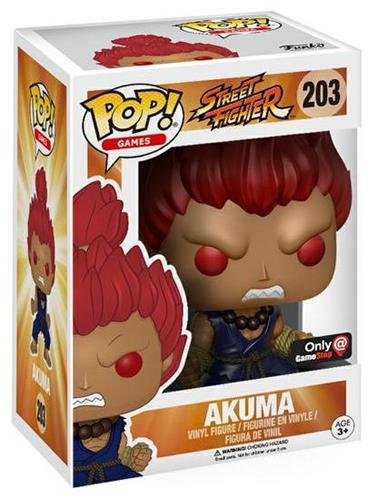 Funko Pop! Games Akuma Stock