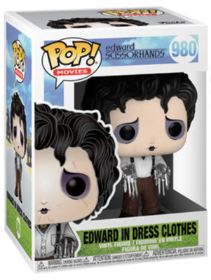 Funko Pop! Movies Edward in Dress Clothes Stock