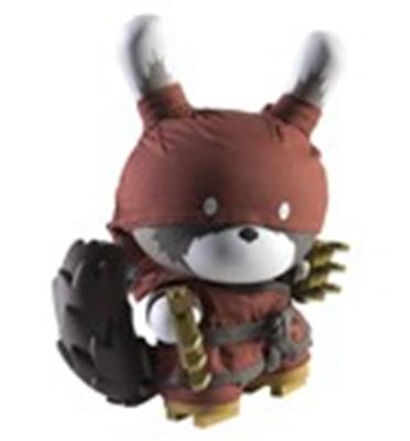 "Kid Robot 8"" Dunnys Raku (Red/Night)"