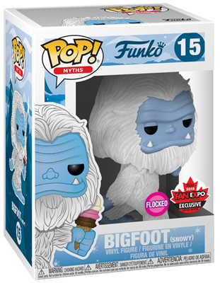 Funko Pop! Myths Bigfoot (Flocked) - Snowy Stock