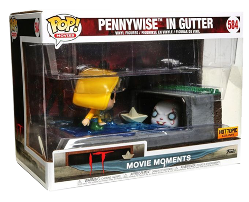 Funko Pop! Movies Pennywise in Gutter  Stock