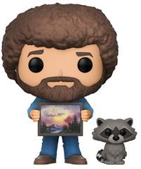Bob Ross (w/ Raccoon)