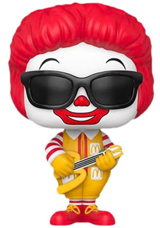 Funko Pop! Ad Icons Rock Out Ronald McDonald