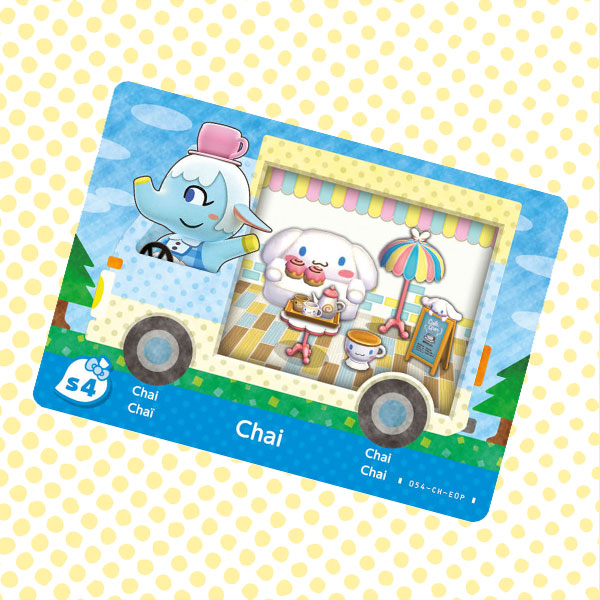 Amiibo Cards Animal Crossing X Sanrio