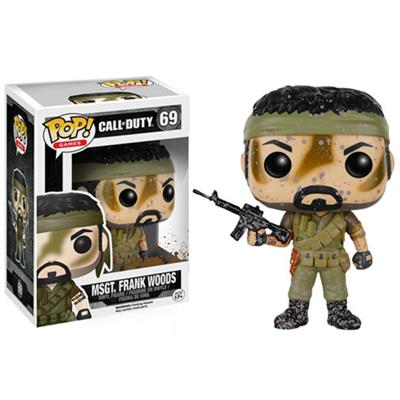 Funko Pop! Games Msgt. Frank Woods (Muddy) Stock