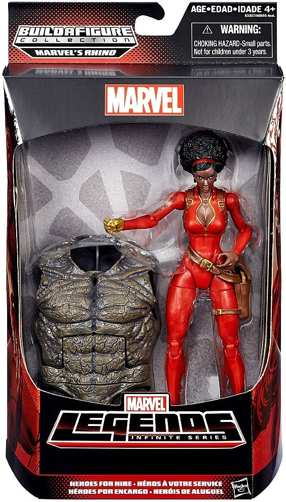 Marvel Legends Rhino Series Misty Knight (Torso Variant)