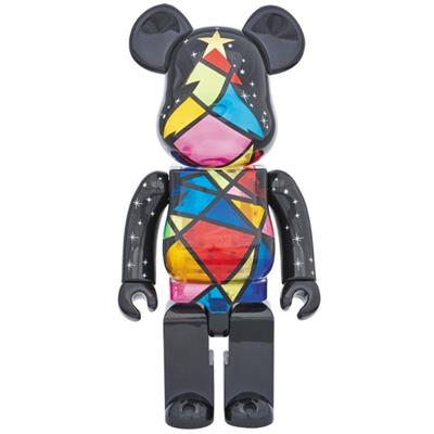 Be@rbrick Christmas Stained Glass 1000%