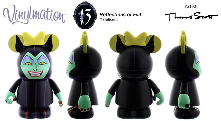 Vinylmation Open And Misc 13 Reflections of Evil Maleficent