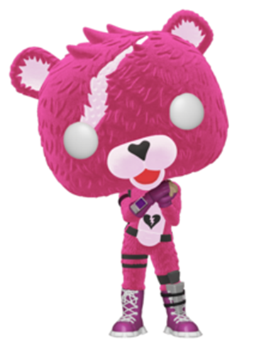 Funko Pop! Games Cuddle Team Leader (Flocked)