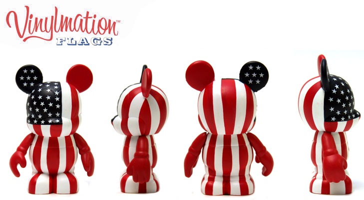 Vinylmation Open And Misc Flags USA