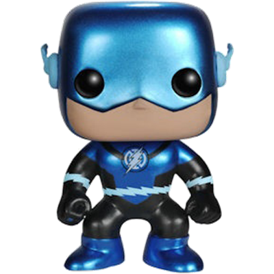 Funko Pop! Heroes The Flash (Blue Lantern) (Metallic) Icon Thumb