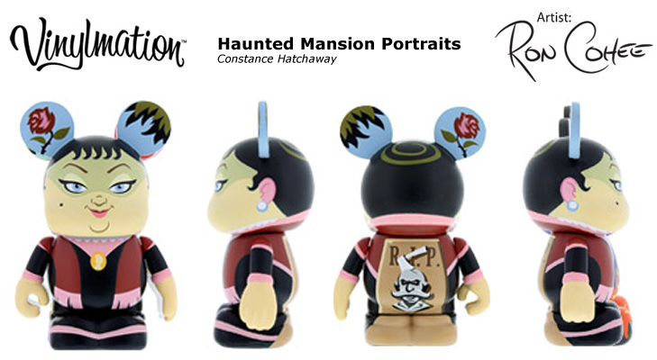 Vinylmation Open And Misc Haunted Mansion Portraits Constance Hatchaway