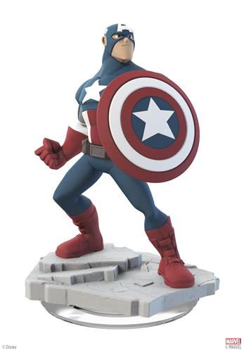 Disney Infinity Figures Marvel Comics Captain America