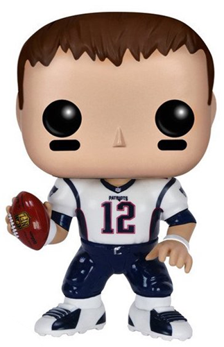 Funko Pop! Football Tom Brady (Road Jersey)