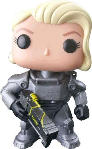 Funko Pop! Games Power Armor (Unmasked) (Female) Stock