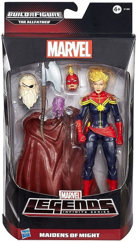 Marvel Legends All-Father Series Captain Marvel