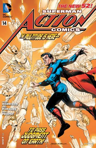 DC Comics Action Comics (2011 - 2016) Action Comics (2011) #14D Stock