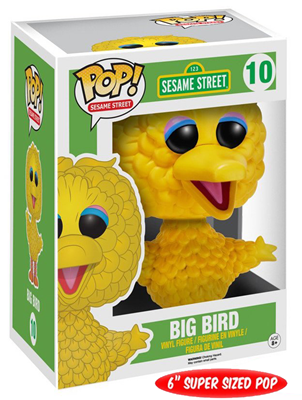 Funko Pop! Sesame Street Big Bird Stock