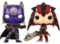 Funko Pop! Games Black Panther v. Monster Hunter