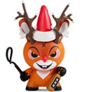 Kid Robot Special Edition Dunny Rise of Rudolph