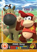 Amiibo Cards Mario Sports Superstars Diddy Kong - Horse Racing