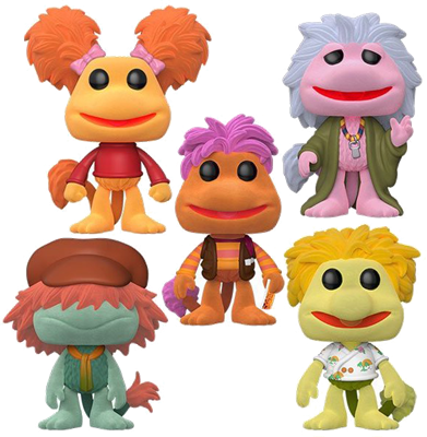 Funko Pop! Television Fraggle Rock (5-Pack) - Flocked