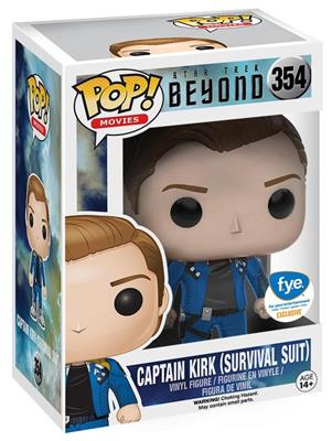 Funko Pop! Movies Captain Kirk (Survival Suit) Stock Thumb