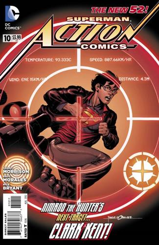 DC Comics Action Comics (2011 - 2016) Action Comics (2011) #10 Icon