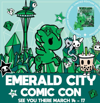 Tokidoki Unicorno Misc Emerald City Unicorno 2019 Stock