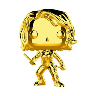 Funko Pop! Marvel Black Widow (Gold Chrome)