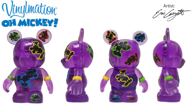 Vinylmation Open And Misc Oh Mickey! Purple