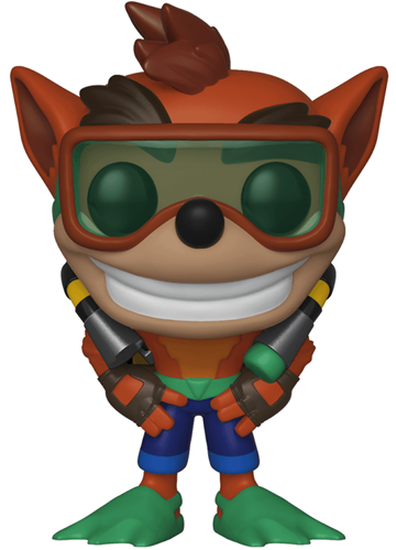 Funko Pop! Games Crash Bandicoot (w/ Scuba Gear)