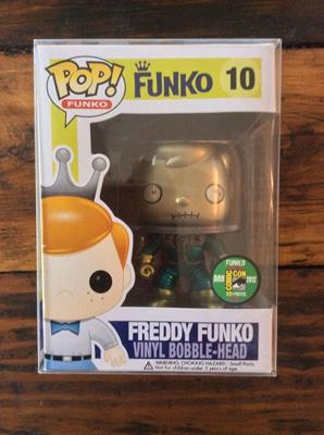 Funko Pop! Freddy Funko Martian (Metallic)