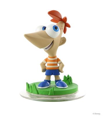 Disney Infinity Figures Phineas and Ferb Phineas