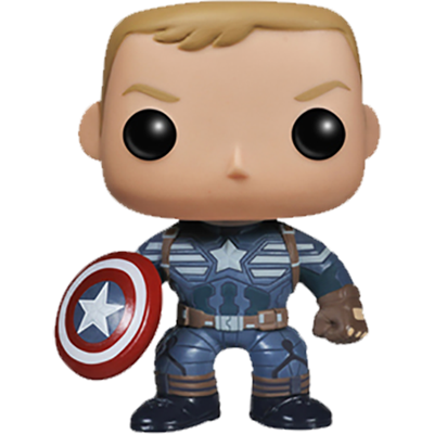 Funko Pop! Marvel Captain America (Winter Soldier) (Unmasked)