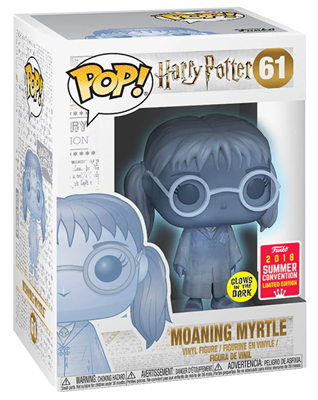 Funko Pop! Harry Potter Moaning Myrtle (Translucent) Stock