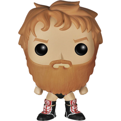 Funko Pop! Wrestling Daniel Bryan - Pattern on Outfit