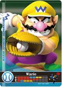 Amiibo Cards Mario Sports Superstars Wario - Baseball